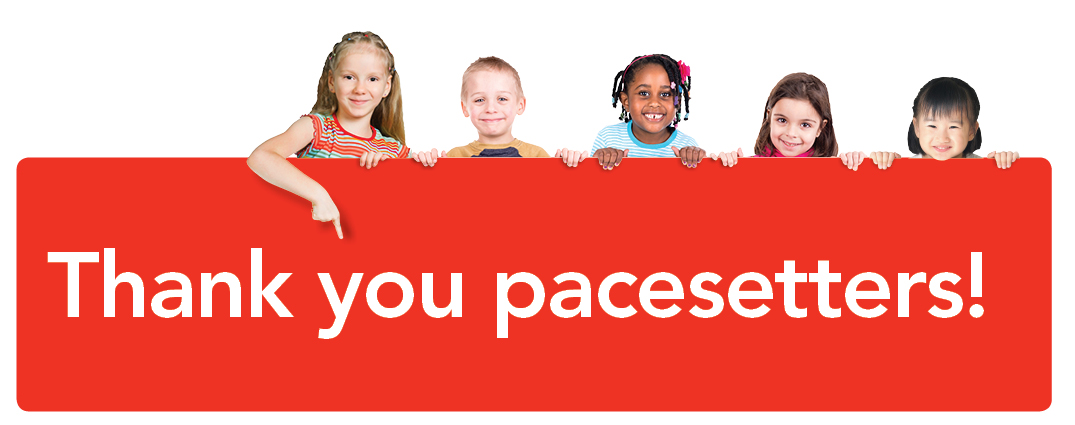 Thank you United Way Pacesetters