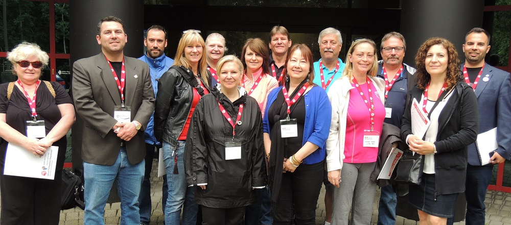 Union Counsellors tour United Way-funded agencies.