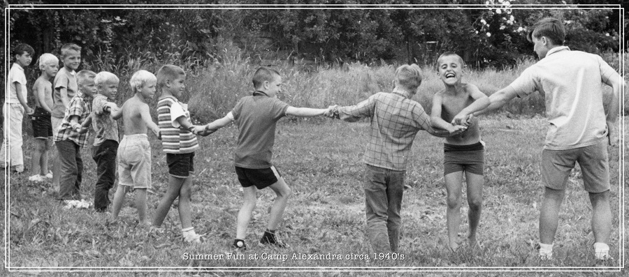 Camp games 1940s
